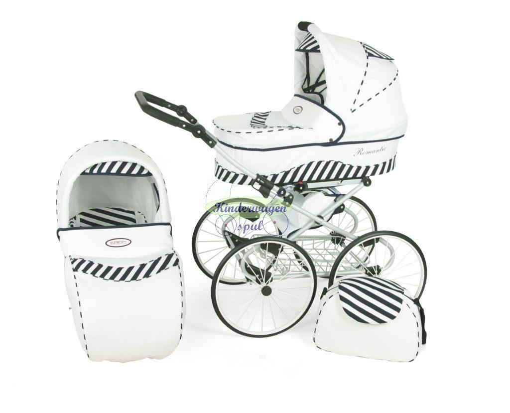Kinderwagen wit - zebra<br /> Prijs: € 549,00