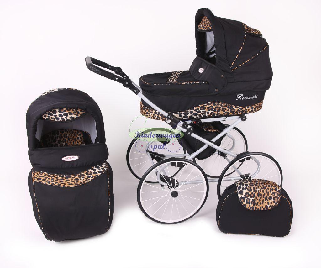 Kinderwagen zwart - panter<br /> Prijs: € 549,00